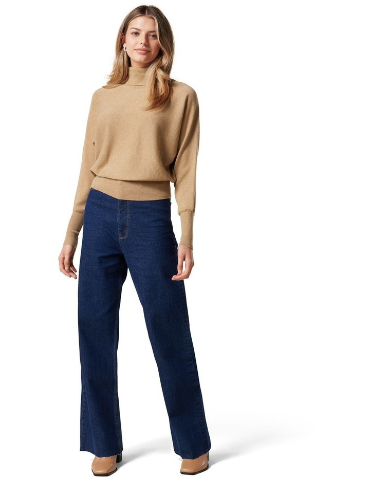 Layla Roll Neck Batwing Knit Jumper image 5