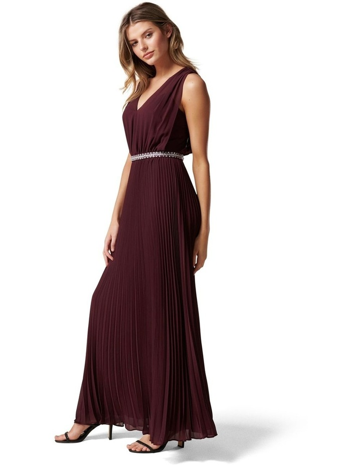 Aurora V Neck Maxi Dress image 3