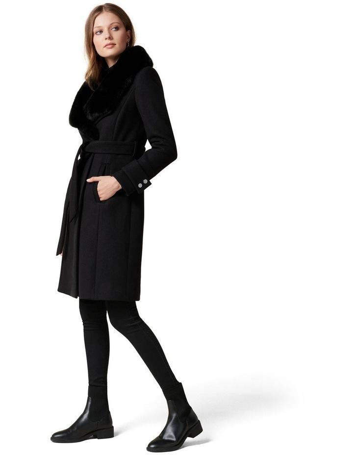 Jamie Fur Collar Coat image 3