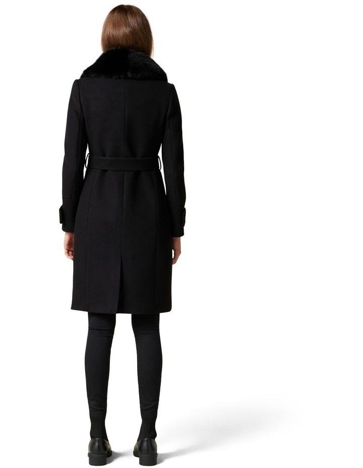 Jamie Fur Collar Coat image 4