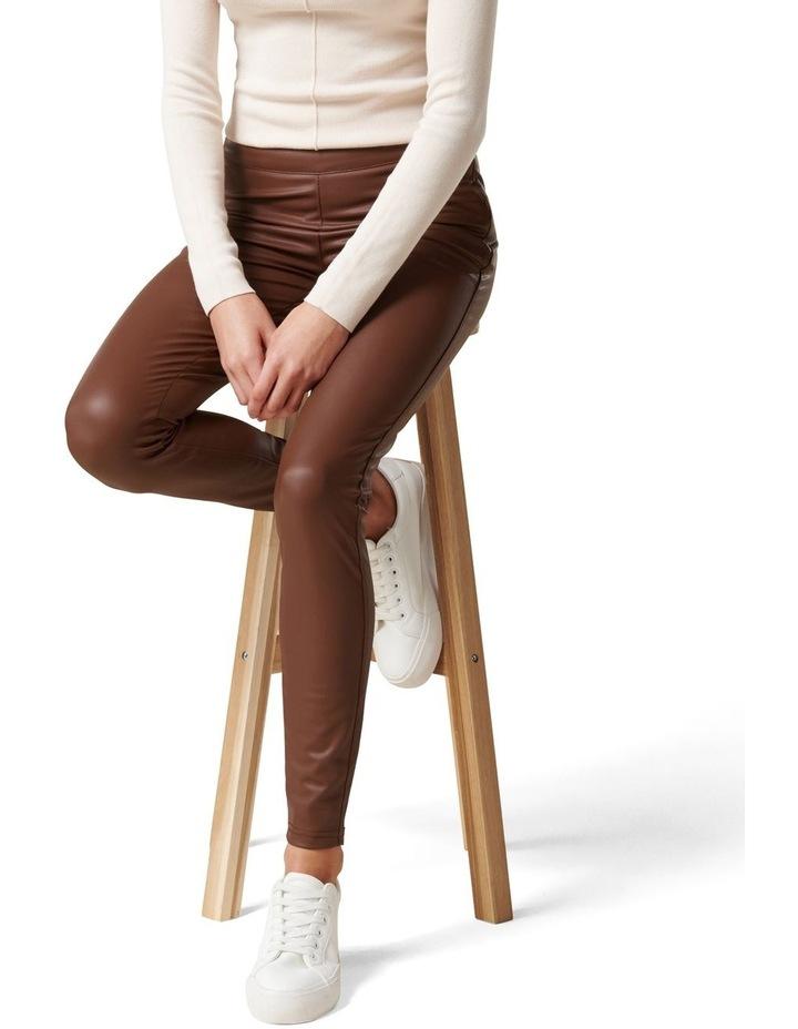 Priscilla Vegan Leather Leggings image 1