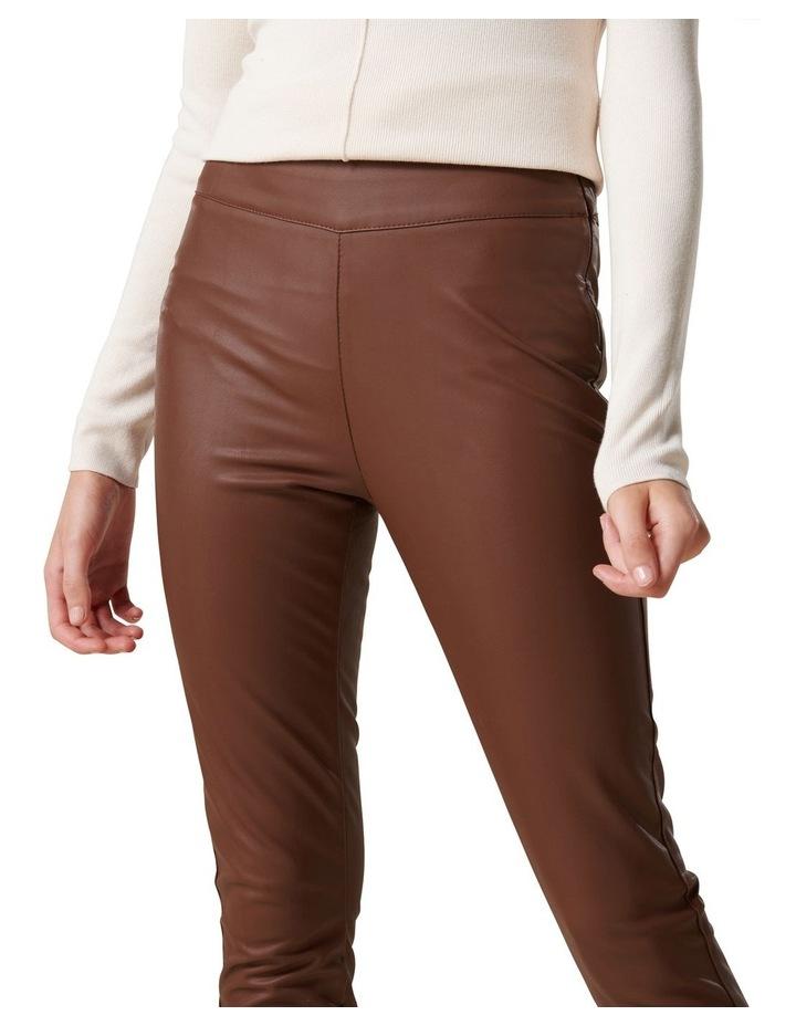 Priscilla Vegan Leather Leggings image 2