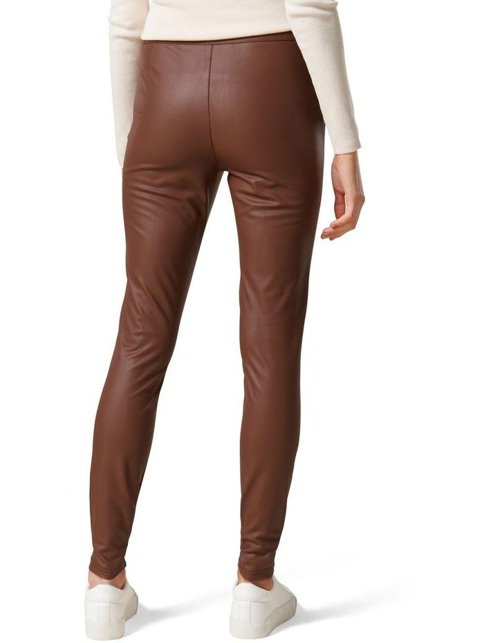 Priscilla Vegan Leather Leggings image 4