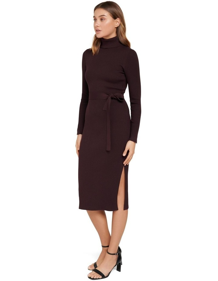 Gianna Rib Column Midi Knit Dress image 2