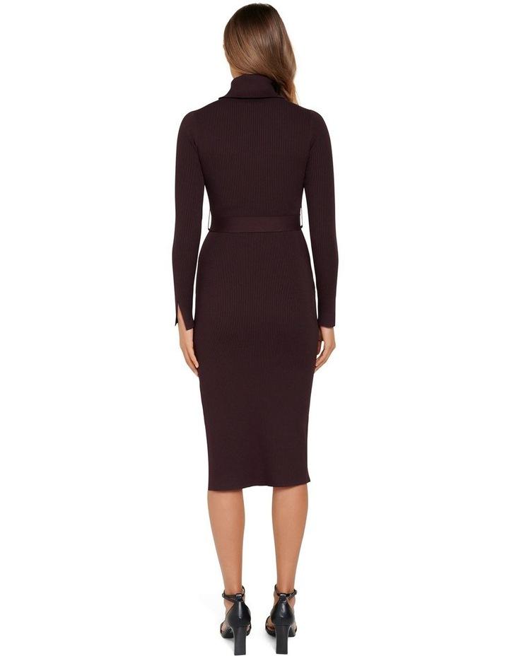 Gianna Rib Column Midi Knit Dress image 3