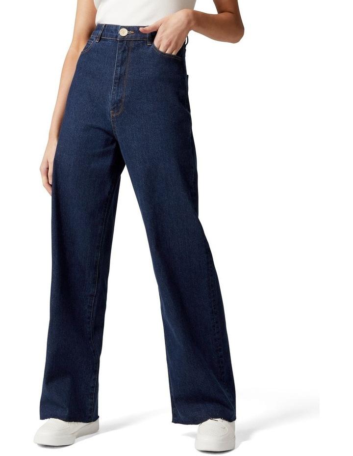 Gia Petite High Rise Wide Leg Jean image 1