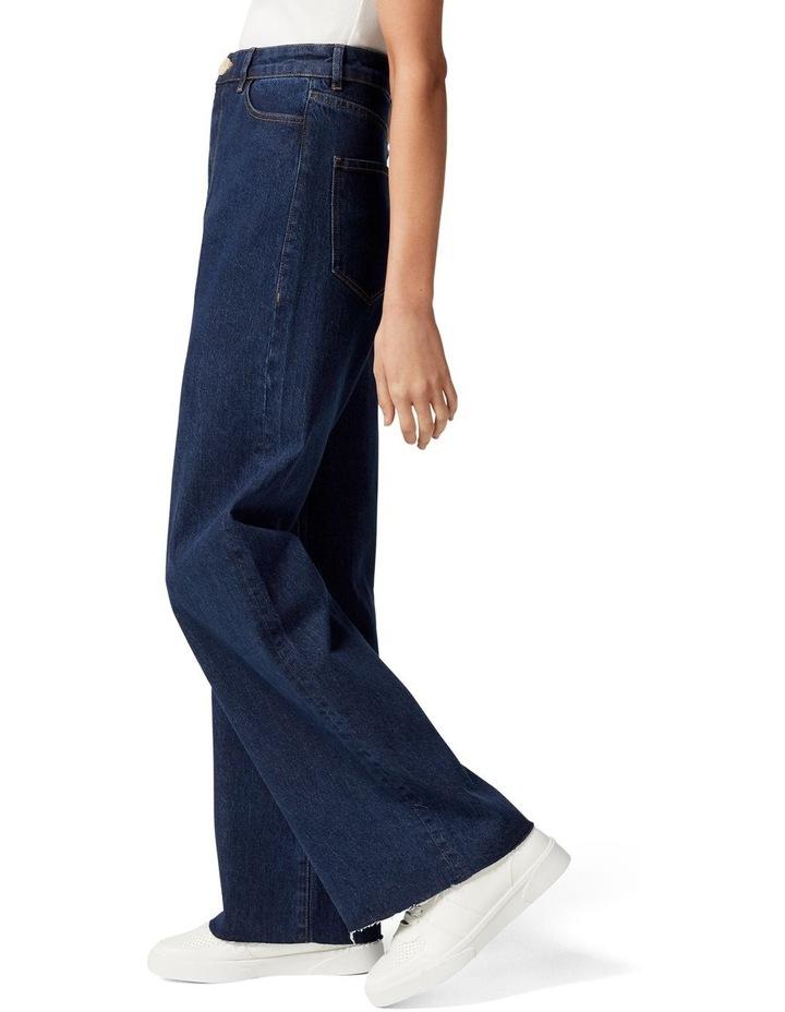 Gia Petite High Rise Wide Leg Jean image 3