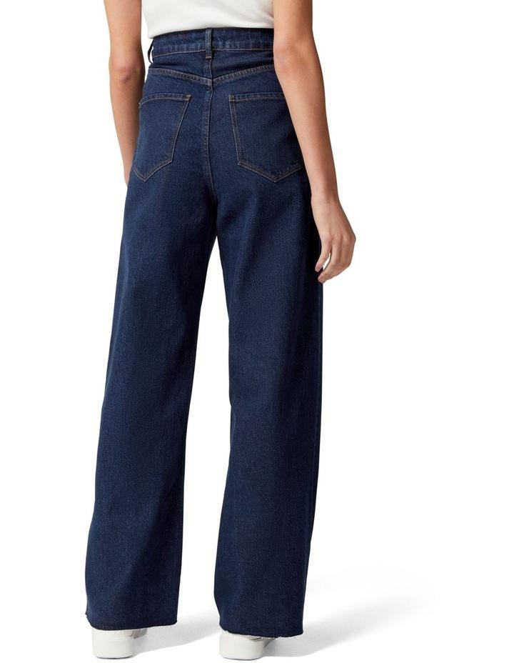 Gia Petite High Rise Wide Leg Jean image 4