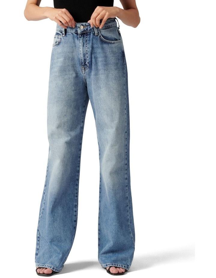 Anna Petite High Rise 90s Straight Jean image 1