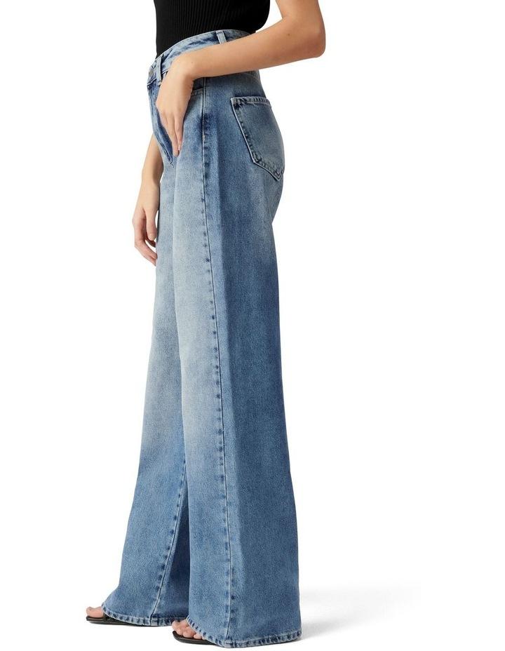 Anna Petite High Rise 90s Straight Jean image 3