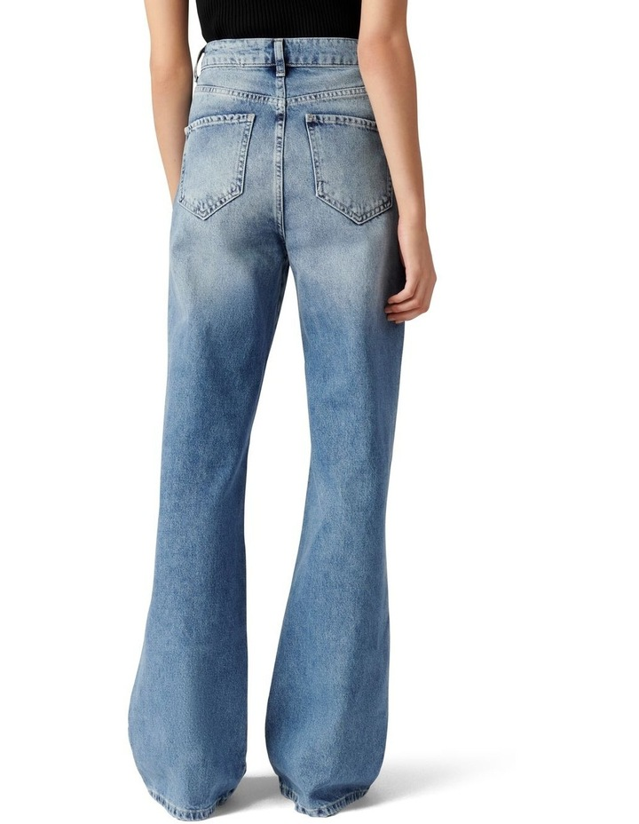 Anna High Rise 90s Straight Jean image 4