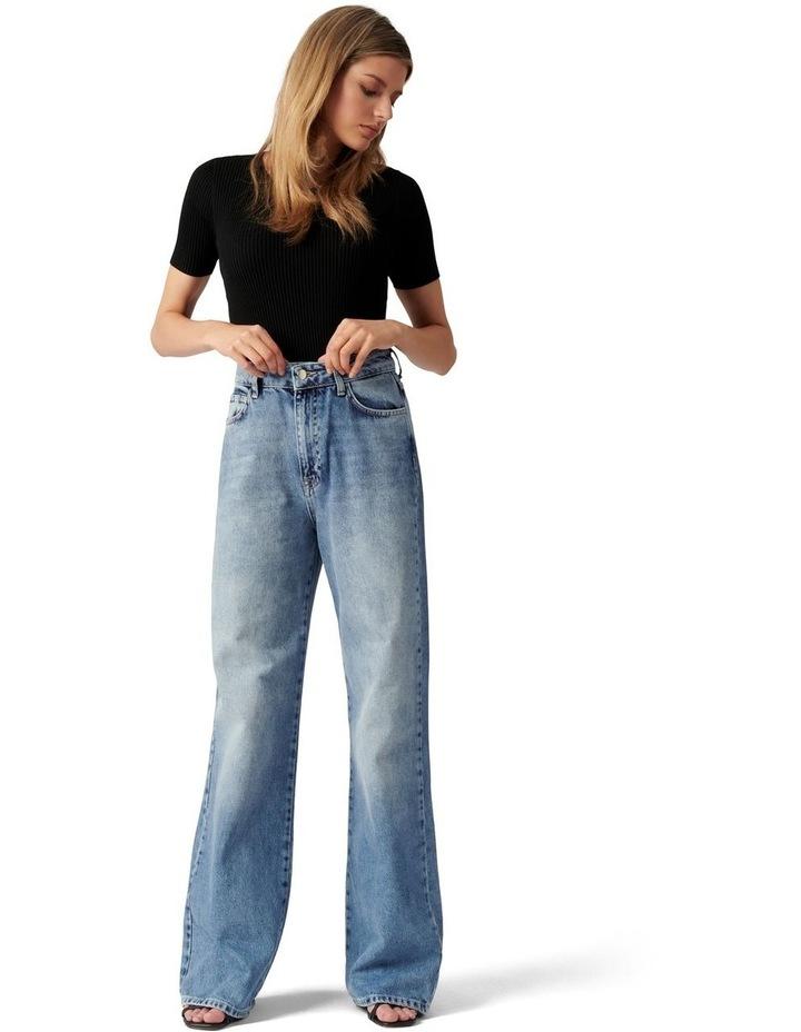 Anna High Rise 90s Straight Jean image 5