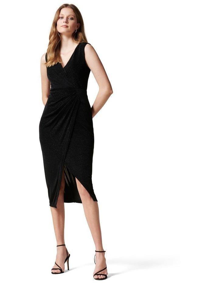 Evie Glitter Jersey Dress image 1