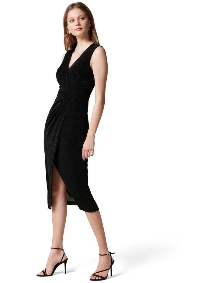 Evie Glitter Jersey Dress image 3