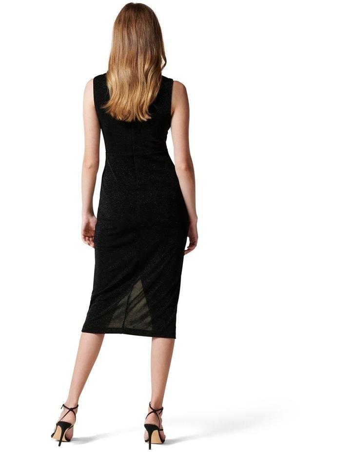 Evie Glitter Jersey Dress image 4