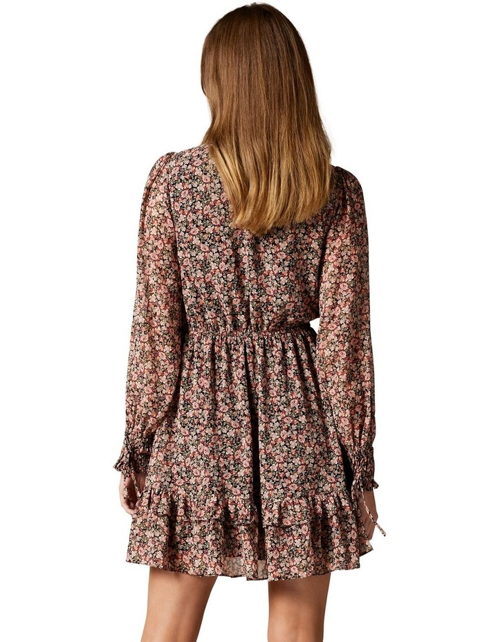 Faye Printed Mini Dress image 4