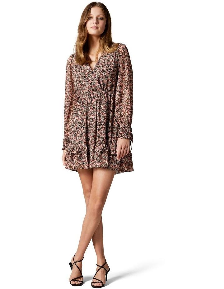Faye Printed Mini Dress image 5