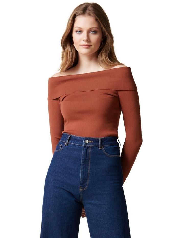 Angeline Bardot Knit Top image 1