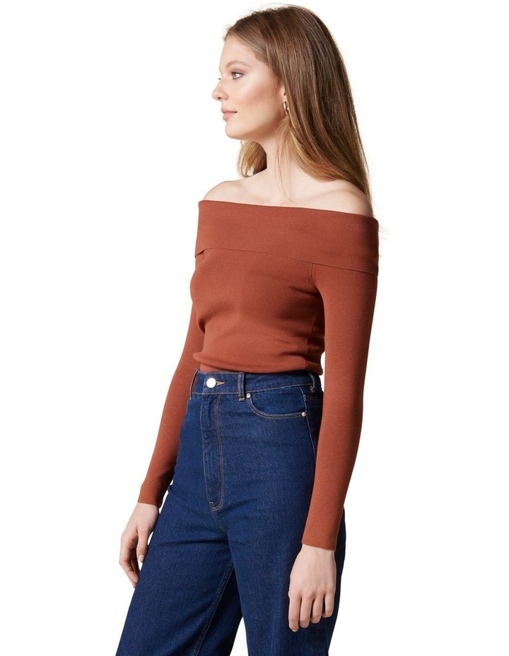 Angeline Bardot Knit Top image 3