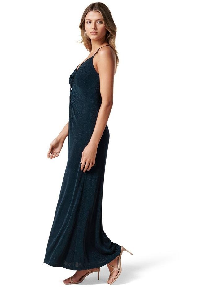Keryn Ruched Glitter Midi Dress image 3