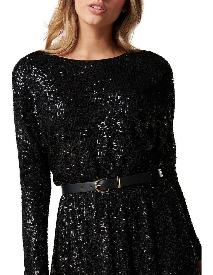 Sia Sequin Batwing Mini Dress image 2