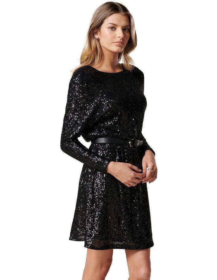 Sia Sequin Batwing Mini Dress image 3