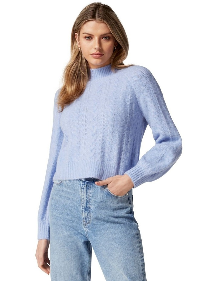 Roxy Petite Cable Knit Jumper image 1