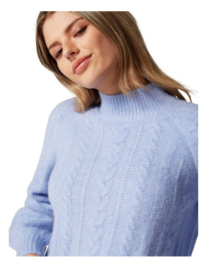 Roxy Petite Cable Knit Jumper image 2