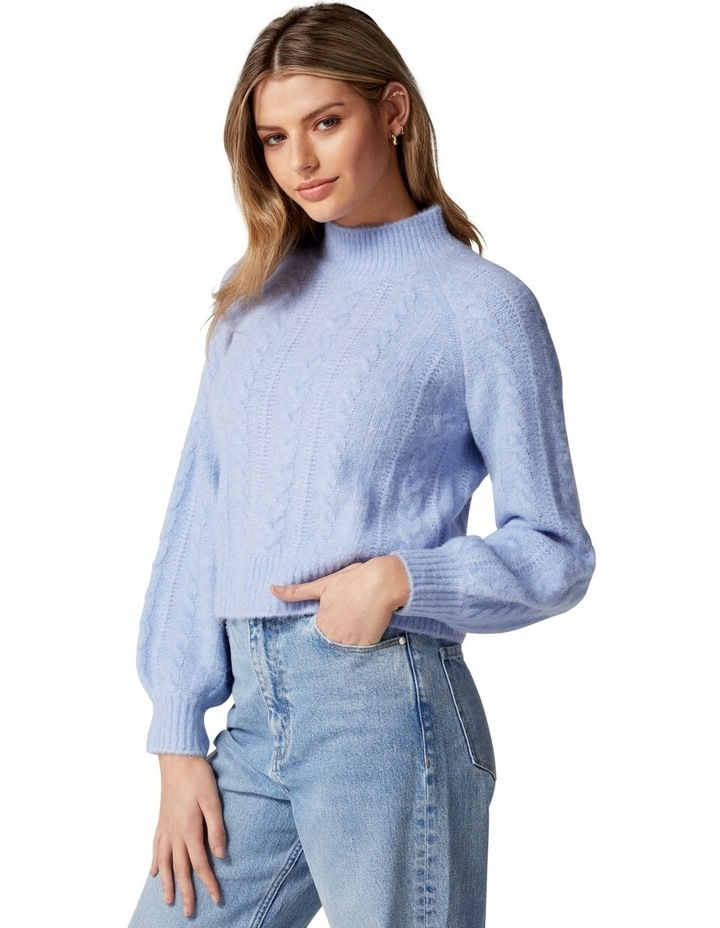 Roxy Petite Cable Knit Jumper image 3