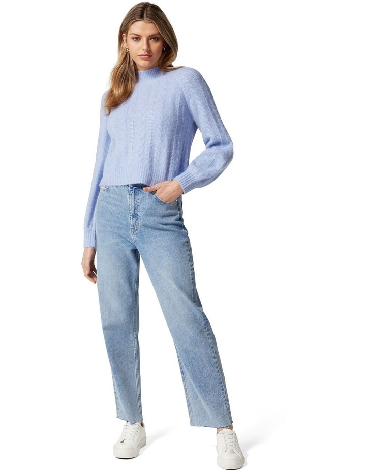Roxy Petite Cable Knit Jumper image 5