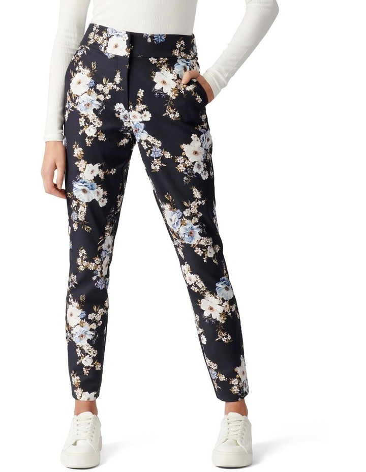 Kellie High Waisted Printed Pants image 1