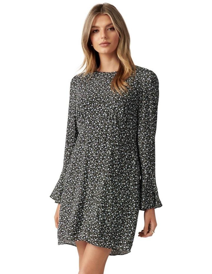 Aspen Petite Flare Sleeve Dress image 1