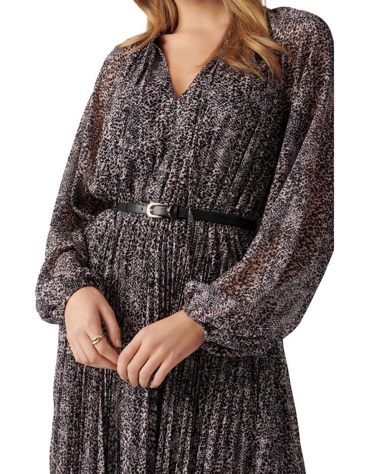 Carmen Pleated Midi Dress image 2