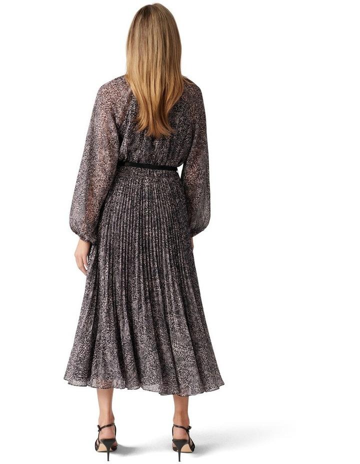 Carmen Pleated Midi Dress image 4