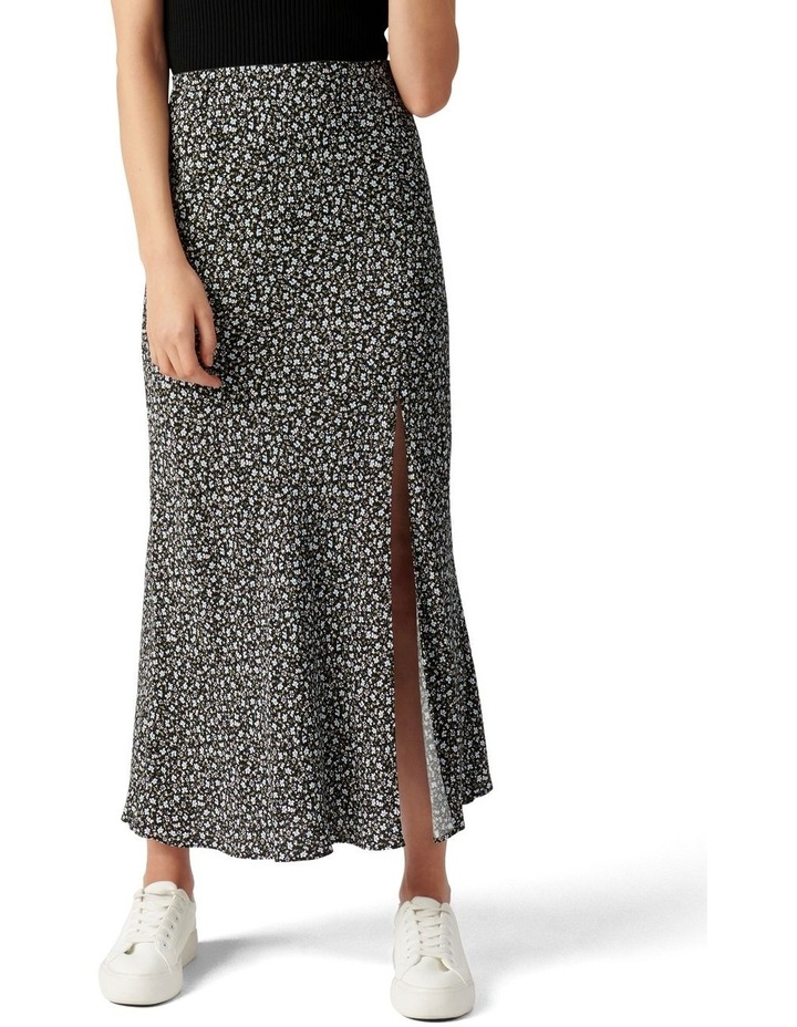 Blanca Petite Bias Split Midi Skirt image 1