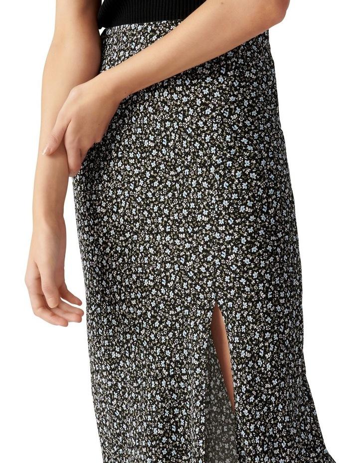 Blanca Petite Bias Split Midi Skirt image 2