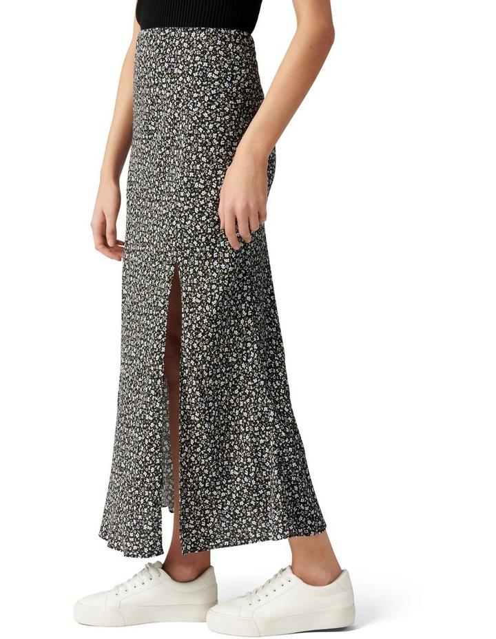 Blanca Petite Bias Split Midi Skirt image 3