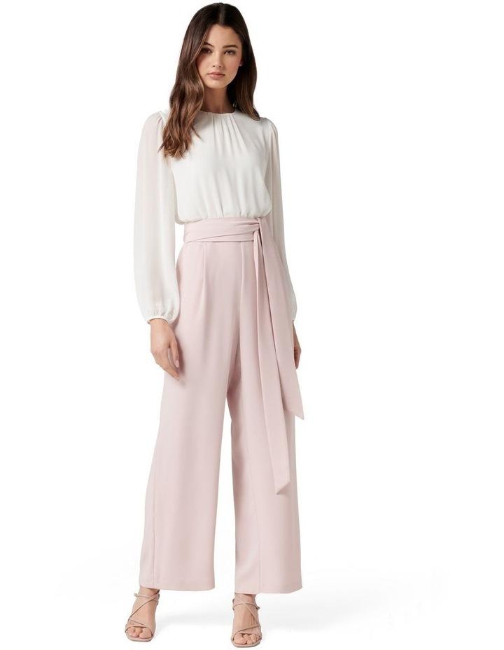 Ivy Long Sleeve Petite Jumpsuit image 1