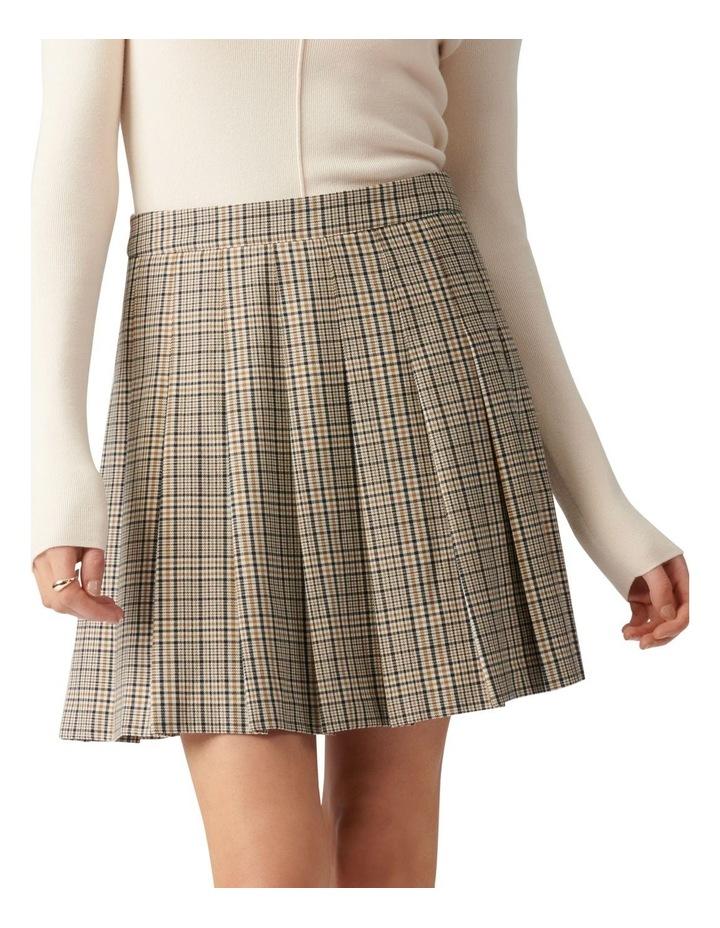 Tania Check Kilt Mini Skirt image 1