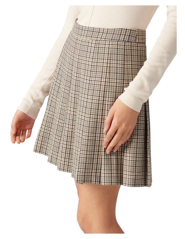 Tania Check Kilt Mini Skirt image 3