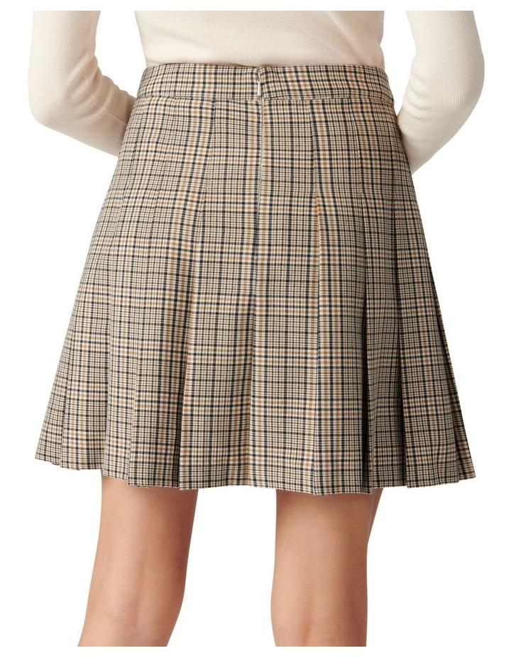 Tania Check Kilt Mini Skirt image 4