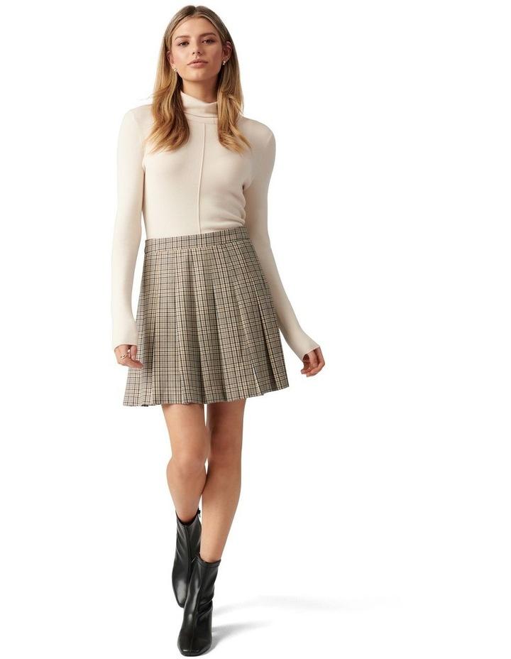 Tania Check Kilt Mini Skirt image 5
