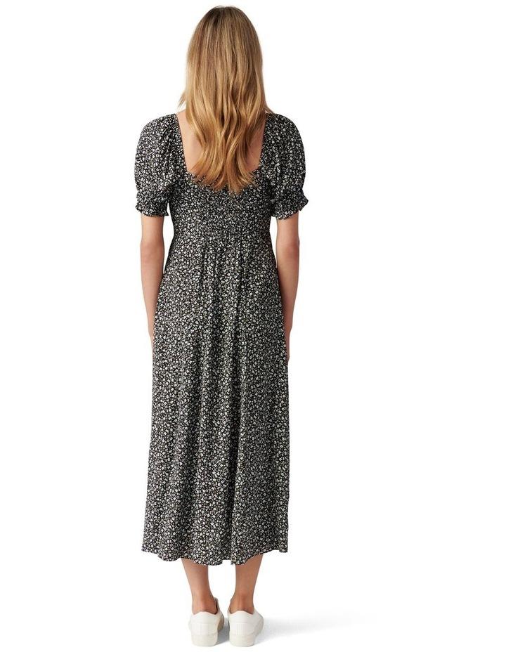 Mariah Lace Up Midi Dress image 4