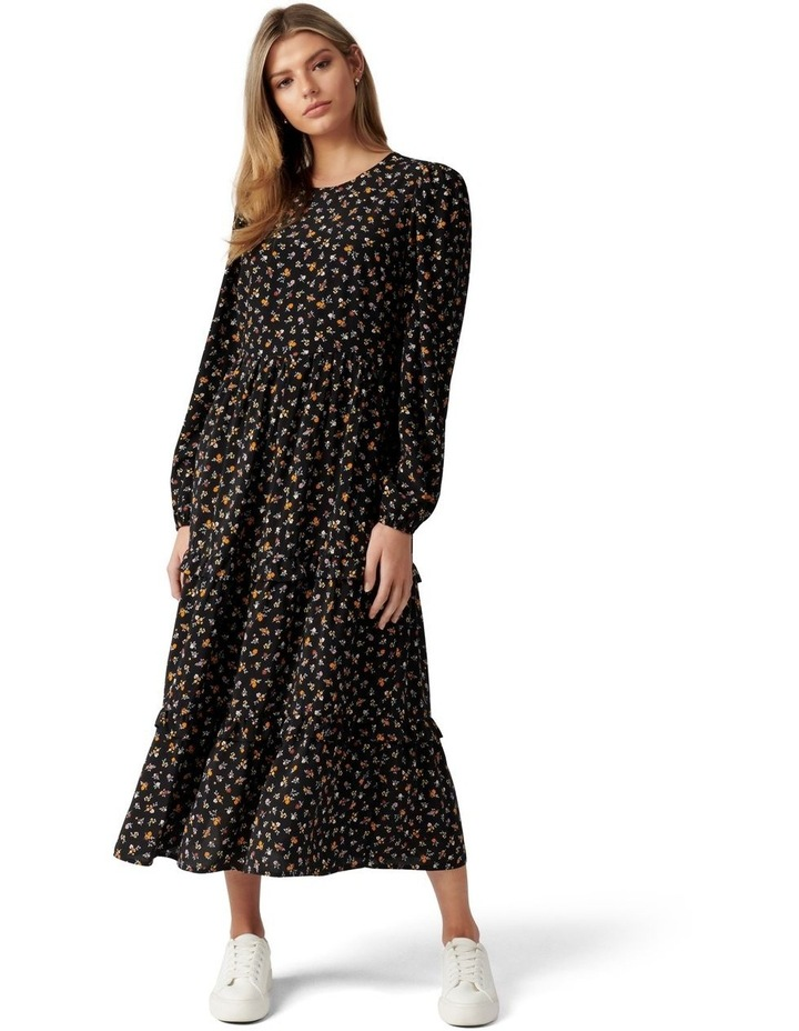 Selma Tiered Midi Dress image 1
