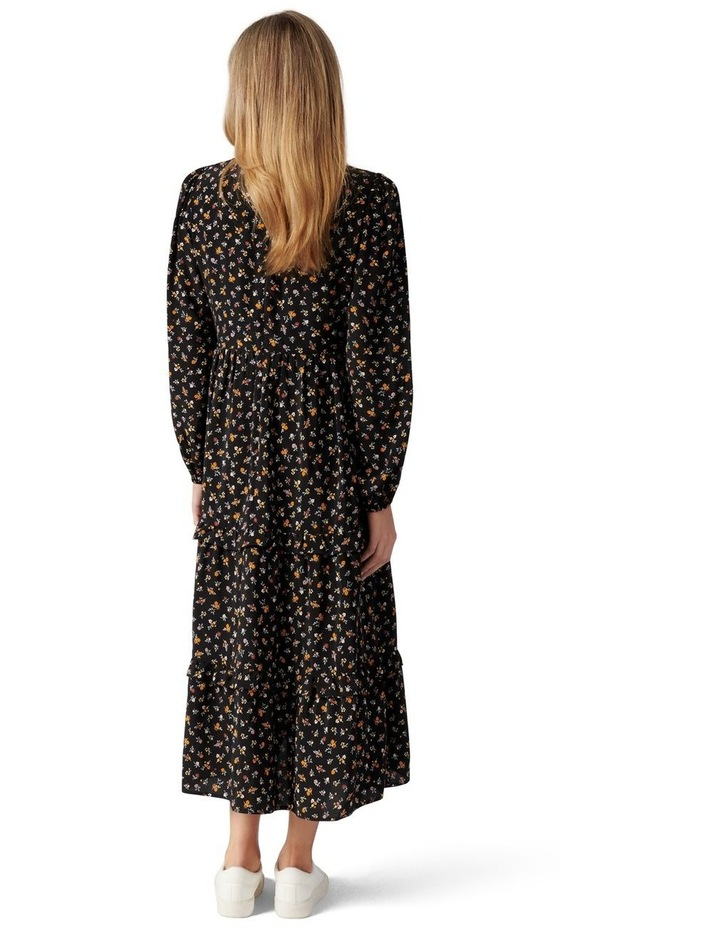 Selma Tiered Midi Dress image 4