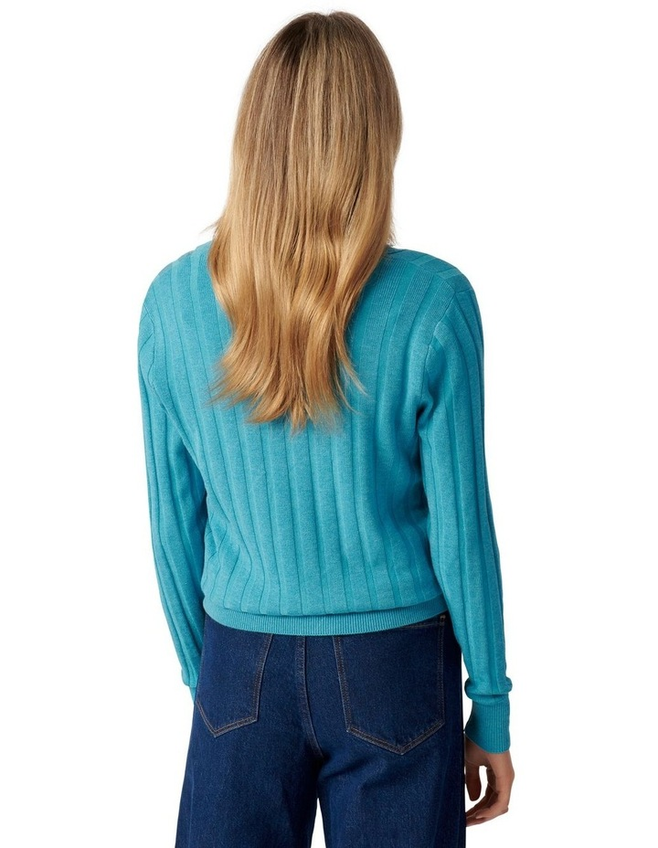 Isla Cinched Polo Knit Jumper image 4