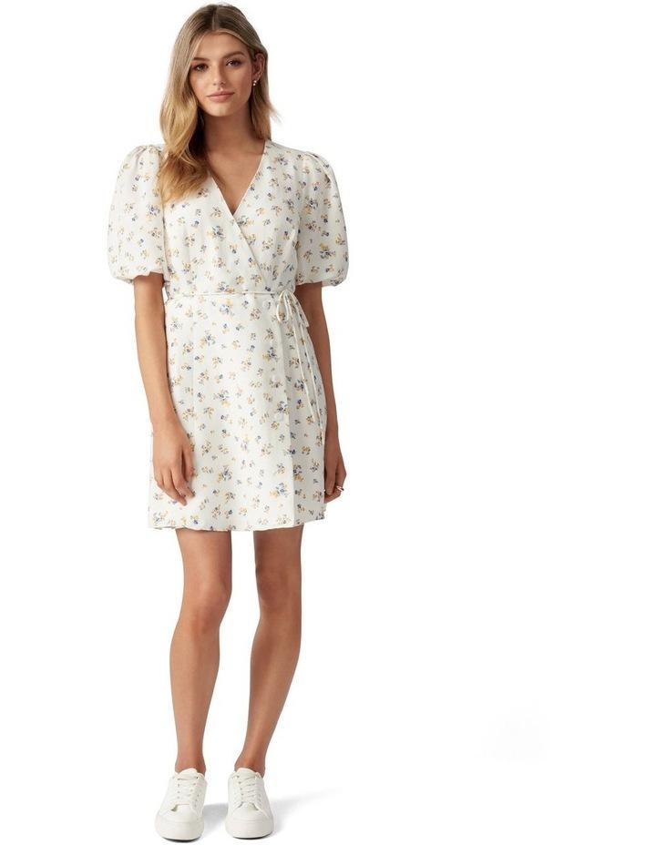 Olivia Wrap Skater Dress image 5
