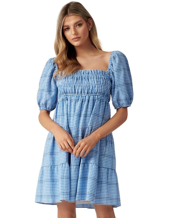 Andie Puff Sleeve Mini Dress image 1