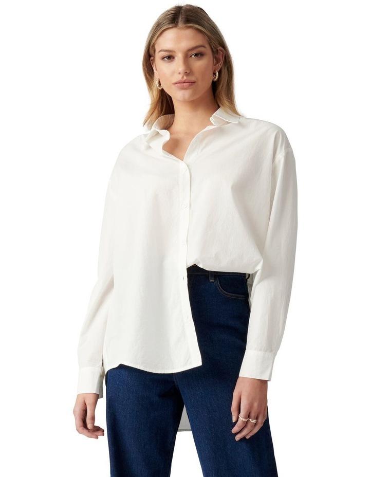 Denver Oversized Cotton Shirt image 1