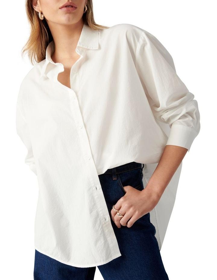 Denver Oversized Cotton Shirt image 2